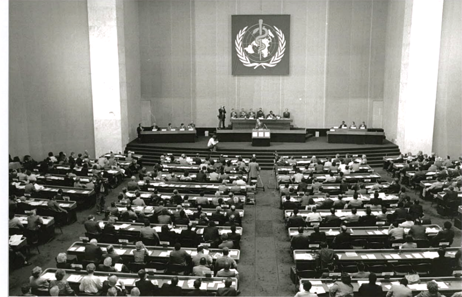World Health Organization meeting in 1988 that resulted in the founding of the GPEI | WHO