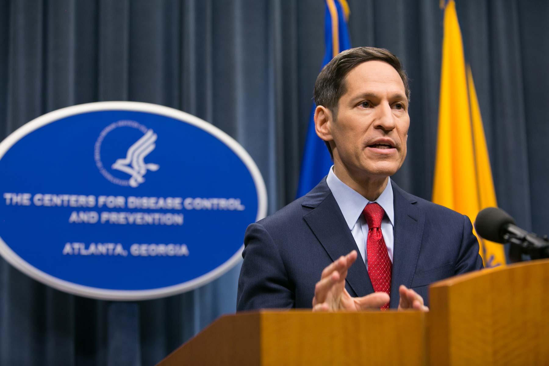 Then CDC Chief Dr. Thomas Frieden Updates Media