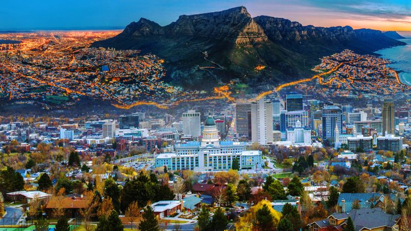 Cape Town, South Africa, and Salt Lake City, Utah in the United States. | Florian Frey via Adobe Stock / John via Adobe Stock / CSIS