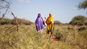 UNICEF workers travel long distance to deliver polio vaccination in hard to reach areas