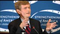 Video thumbnail for Gates, Mullen, Simpson, Bowles, Bell, Bixby, Rivlin & Domenici on Nat Sec & U.S. Debt
