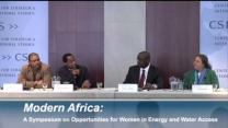Video thumbnail for Panel 3: Modern Africa: A Symposium on Opportunities for Women in Energy and Water Access